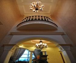 Villa decoration